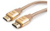 Кабель HDMI - HDMI Cablexpert CC-G-HDMI03-1.8M 1.8m