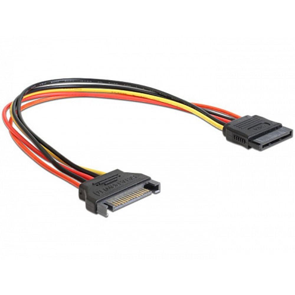 Удлинитель кабеля питания SATA Cablexpert CC-SATAMF-01 0.3m