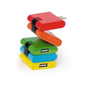 Хаб USB 2.0 Konoos UK-06