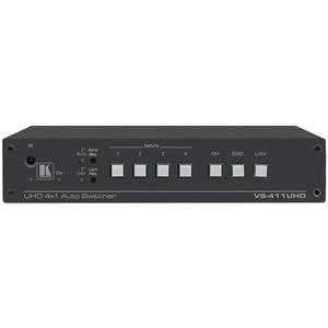 Коммутатор 4х1 HDMI и аналогового аудио с автоматическим переключением Kramer VS-411UHD