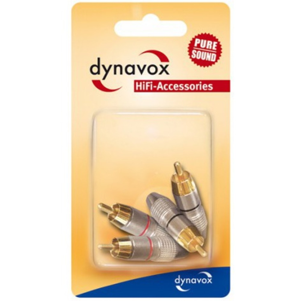 Разъем RCA (Комплект) DYNAVOX RCA Set-4 (205093)