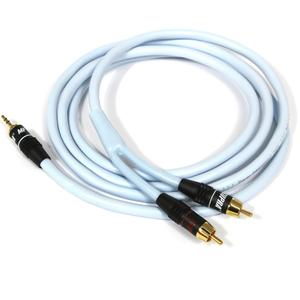 Кабель аудио 1xMini Jack - 2xRCA Supra BiLine-MP 4.0m