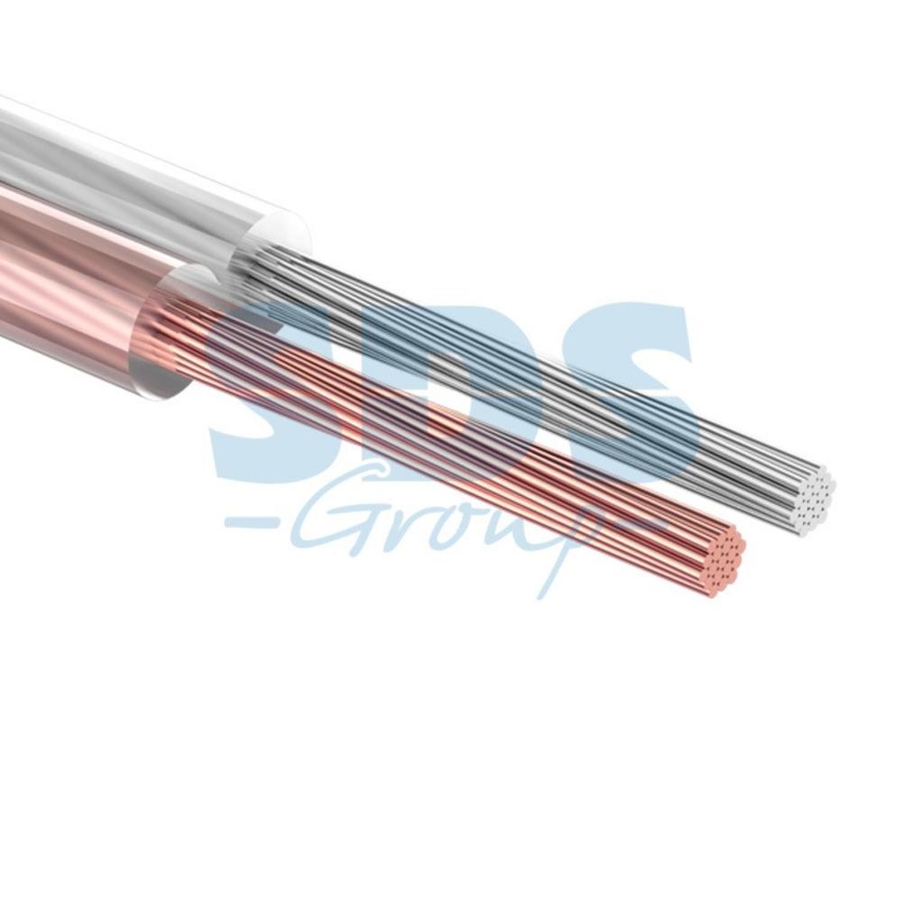 Кабель акустический на катушке Rexant 01-6303-10 2х0.50 мм2 SILICON (10 метров)