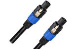 Акустический кабель speakON - speakON Rich Pro RP400BLK 8.0m