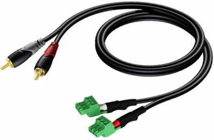 Кабель аудио 2xRCA - 2xRCA Procab CLA832/3 3.0m