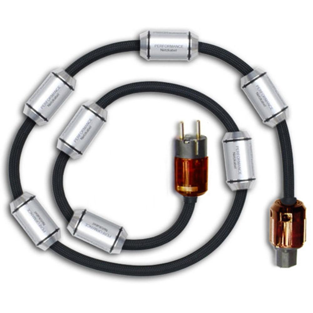 Кабель силовой Schuko - IEC C19 Fisch Audiotechnik Performance-7 Gold-Palladium (C19)  2.0m