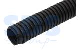Труба гофрированная Rexant 28-0032-3 Труба гофрированная ПНД 32 с зондом 25м ЧЕРНАЯ