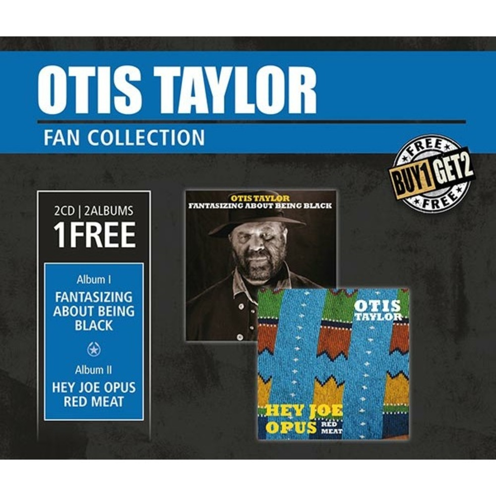 Компакт-диск Inakustik 0169157 Taylor, Otis - Hey Joe Opus Red Meat & Fantasizing About Being Black (CD)