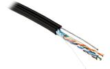 Отрезок кабеля витая пара Hyperline (арт. 4676) FUTP4-C5E-S24-2SW-OUT-PE-BK 4.0m