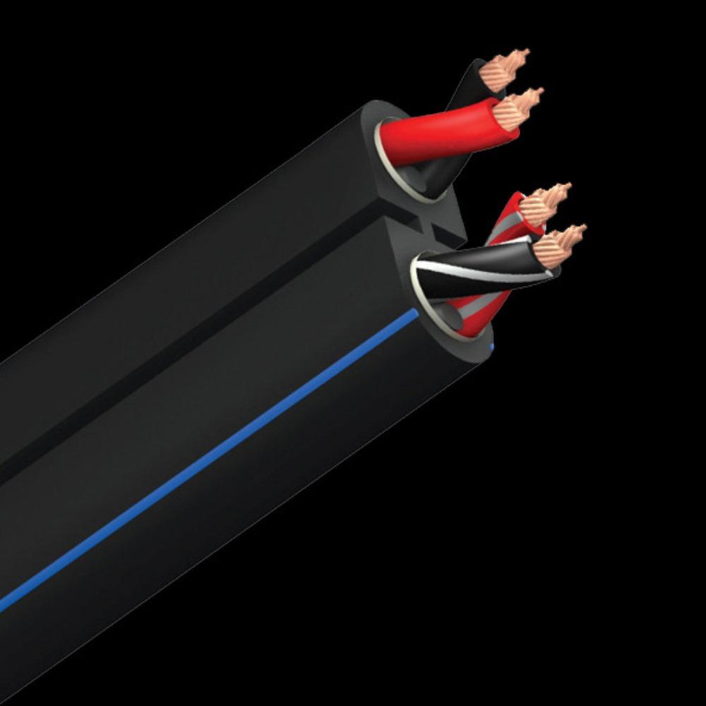 Кабель акустический Bi-Wire Audioquest Rocket 22 PVC Black