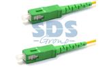 Кабель оптический патч-корд Rexant 50-2027 (SM), 9/125 (OS2), SC/APC-SC/APC, (Simplex), LSZH 15.0m