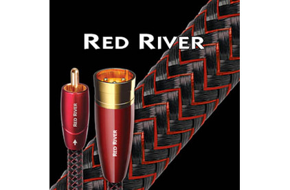 Кабель аудио 2xRCA - 2xRCA Audioquest Red River 2RCA-2RCA 3.0m