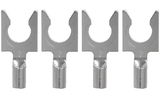 Разъем Лопатка Audioquest 1414/S Spade Silver (Set of 4)