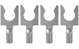 Разъем Лопатка Audioquest 1414/S Spade Silver (Set of 4)