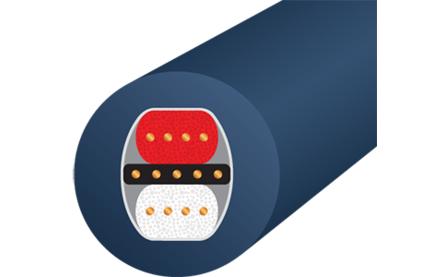 Кабель аудио 2xXLR - 2xXLR WireWorld Luna 8 XLR 0.5m