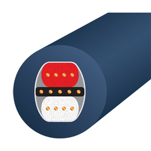 Кабель аудио 2xXLR - 2xXLR WireWorld Luna 8 XLR 3.0m