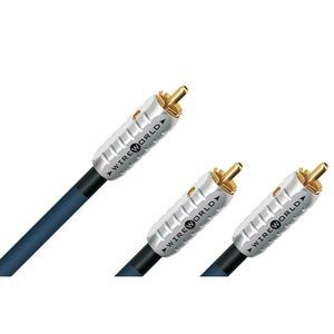 Кабель сабвуферный 1xRCA - 2xRCA WireWorld Luna 8 Y-Subwoofer 4.0m