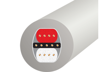 Кабель аудио 2xRCA - 2xRCA WireWorld Solstice 8 RCA 0.5m