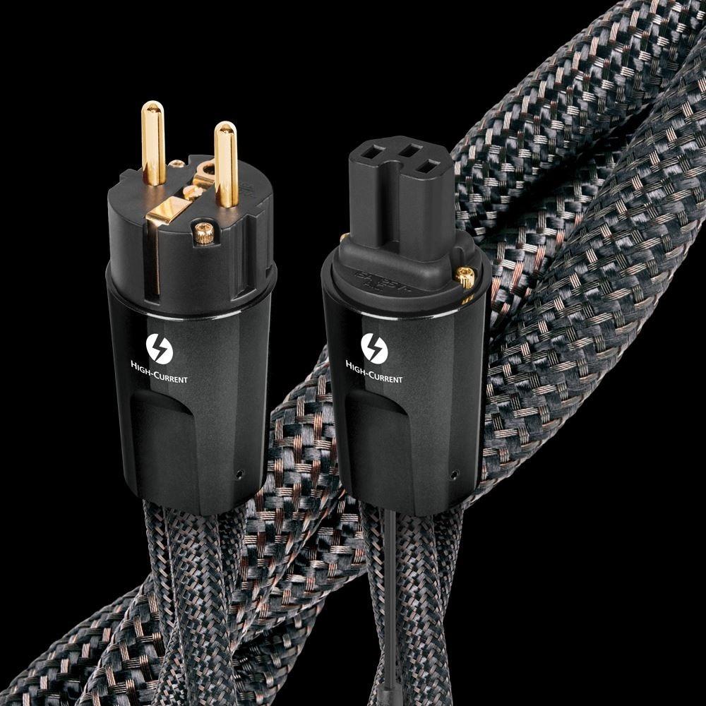 Кабель силовой Schuko - IEC C13 Audioquest Thunder High-Current EU (IEC C15) 1.0m