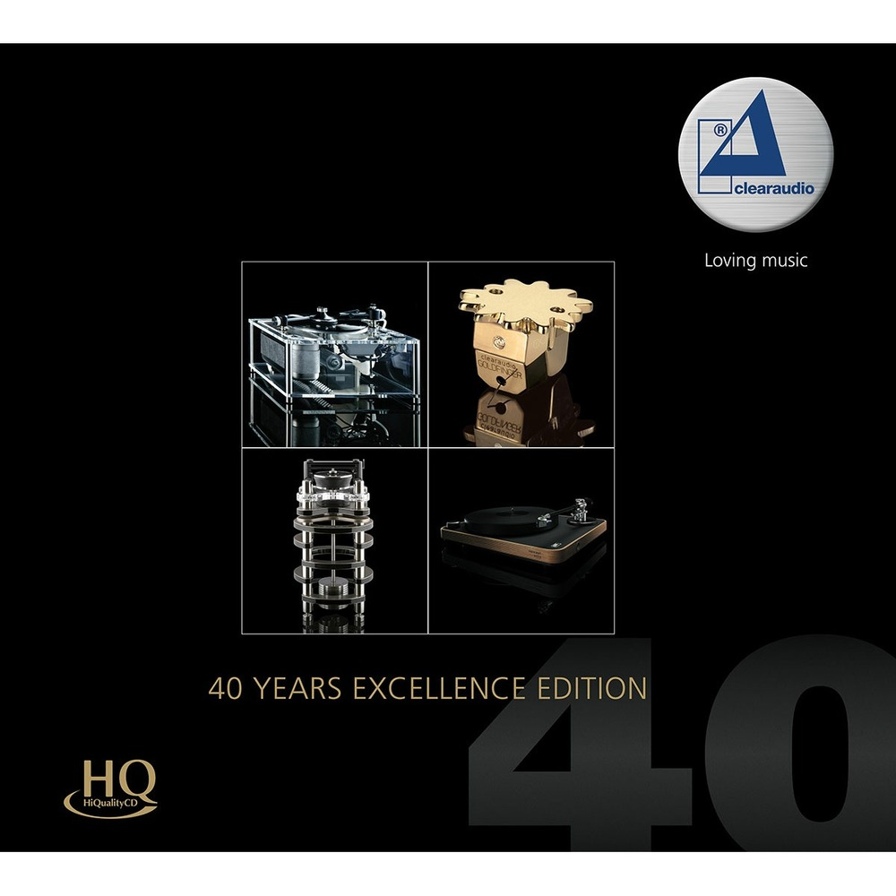 Компакт-диск Inakustik 0167805 Clearaudio - 40 Years Excellence Edition (HQCD)