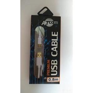 Кабель USB 2.0 Тип A - B 5pin mini Atcom AT3791 0.8m