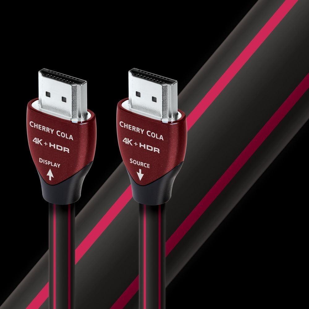 Гибридный оптический HDMI кабель Audioquest HDMI Cherry Cola 18 PVC 20.0m