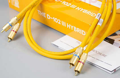 Кабель аудио 2xRCA - 2xRCA Van Den Hul D-102 III Hybrid (3T) RCA 0.8m
