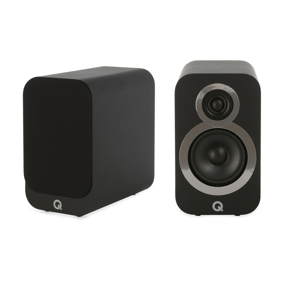 Колонка полочная Q Acoustics Q3020i Carbon Black