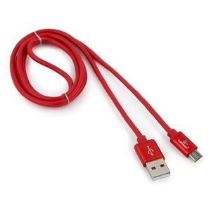 Micro USB кабель Cablexpert CC-S-mUSB01R-1.8M 1.8m