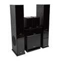 Комплект колонок MT Power 89509029 Elegance-2 Set-5.1 Black (Black grills)