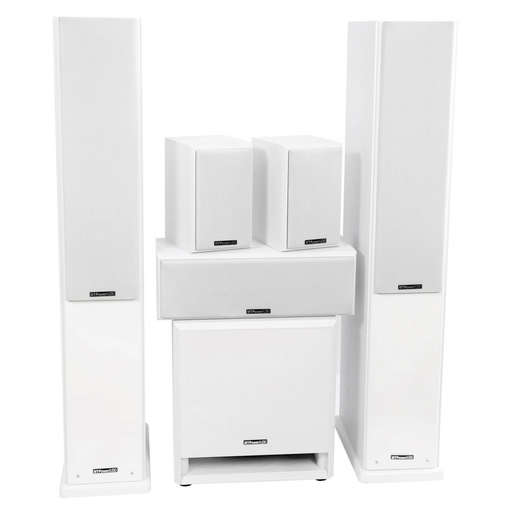 Комплект колонок MT Power 89509030 Elegance-2 Set-5.1 White (White grills)