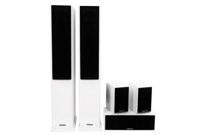 Комплект колонок MT Power 89509032 Elegance-2 Set-5.0 White (Black grills)