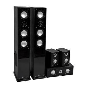 Комплект колонок MT Power 89509035 Elegance-2 Set-5.0 Black (White grills)