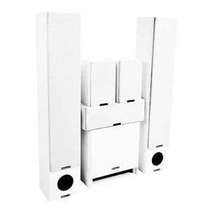 Комплект колонок MT Power 89509040 Performance XL Set-5.1 White (White grills)