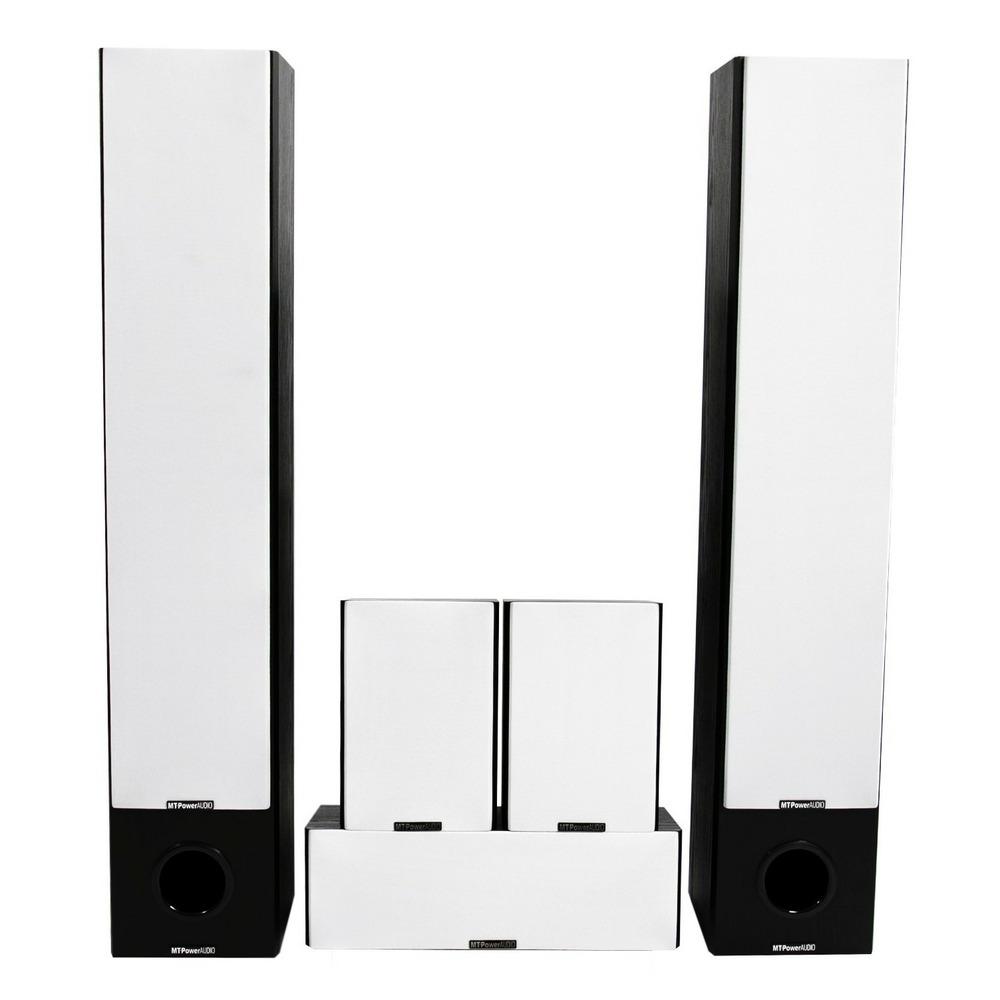 Комплект колонок MT Power 89509045 Performance XL Set-5.0 Black (White grills)