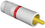 Разъем RCA (Папа) Van Den Hul C-7.3 White (Red)
