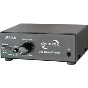 Усилитель предварительный DYNAVOX UPR-2.0 Black (204925)
