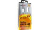 Micro USB кабель Cablexpert CC-G-mUSB02S-0.5M 0.5m