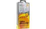 Кабель USB 2.0 Тип A - B micro Cablexpert CC-G-mUSB02Gy-0.5M 0.5m