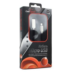 Micro USB кабель Cablexpert CC-P-mUSB02Bk-1.8M 1.8m