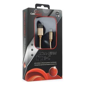 Кабель USB 3.1 Тип C - USB 3.0 Тип A Cablexpert CC-P-USBC03Gd-1.8M 1.8m