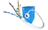 Отрезок кабеля витая пара GWire (арт. 5009) UTP CAT5E 4P 0.51 BC 24 AWG (12001) 3.7m