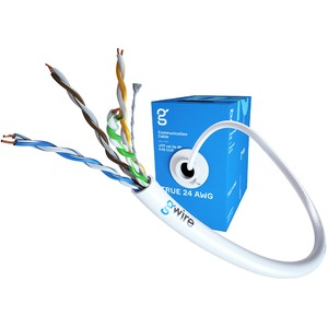 Отрезок кабеля витая пара GWire (арт. 5012) UTP CAT5E 4P 0.51 BC 24 AWG (12001) 1.0m