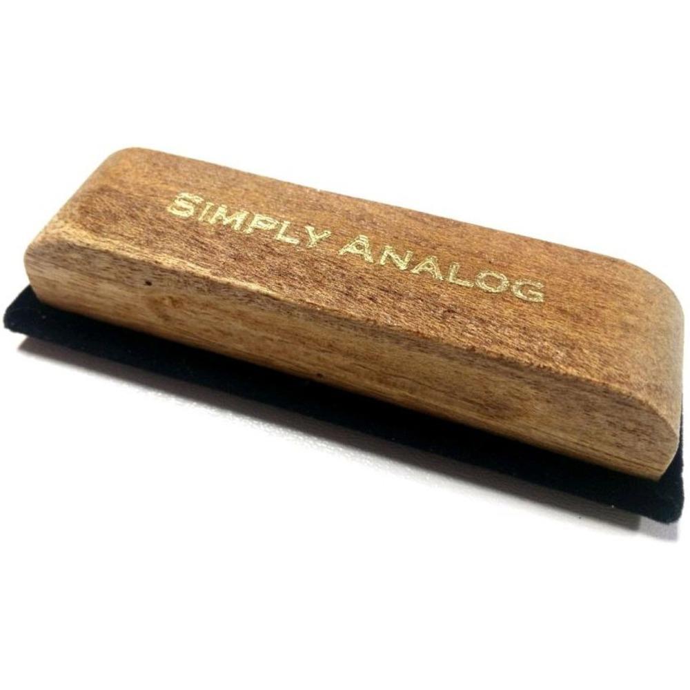 Щетка для пластинок Simply Analog (SAWC003) Velvet Brush Oak Wood