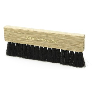 Щетка для пластинок Simply Analog (SAWC001) Vinyl Record Brush Natural Wood