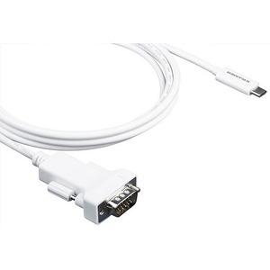Кабель USB 3.1 Тип C - VGA Kramer C-USBC/GM-6 1.8m