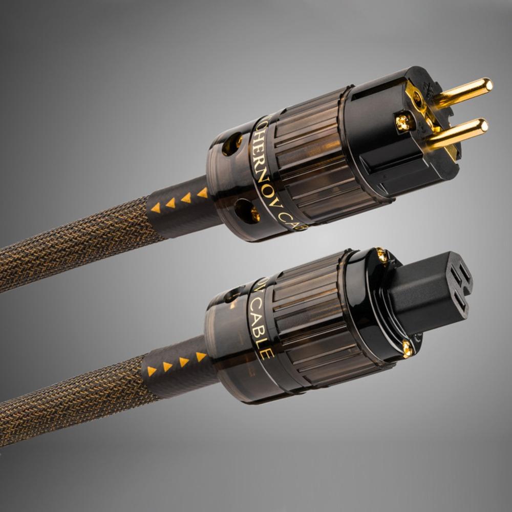 Кабель силовой Schuko - IEC C13 Tchernov Cable Reference AC Power EUR 1.65m