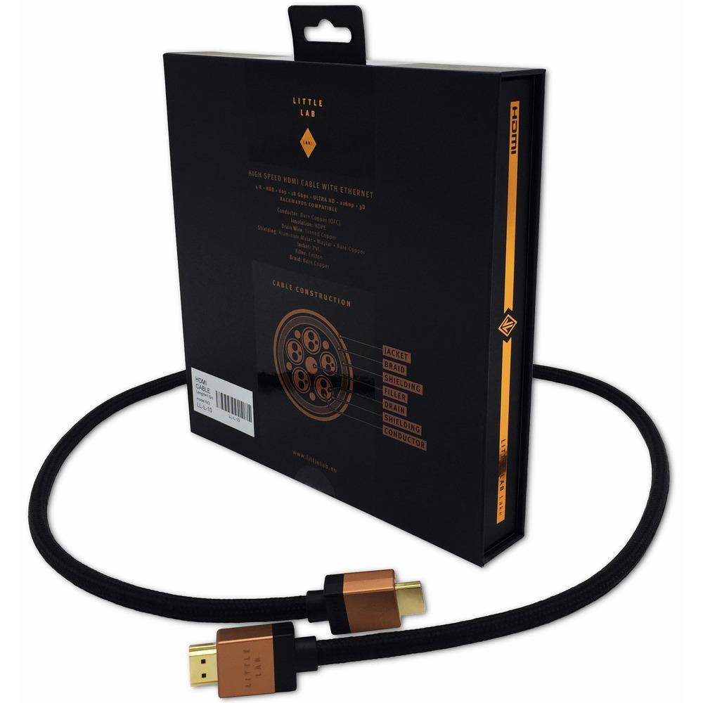 Кабель HDMI - HDMI Little Lab Lake HDMI v2.0 (LL-L-45) 4.5m