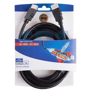 Шнур HDMI Rexant 06-3102 HDMI gold с ферритами 3.0m