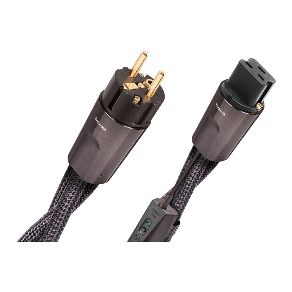 Кабель силовой Schuko - IEC C19 Audioquest Thunder High-Current EU (IEC C19) 2.0m